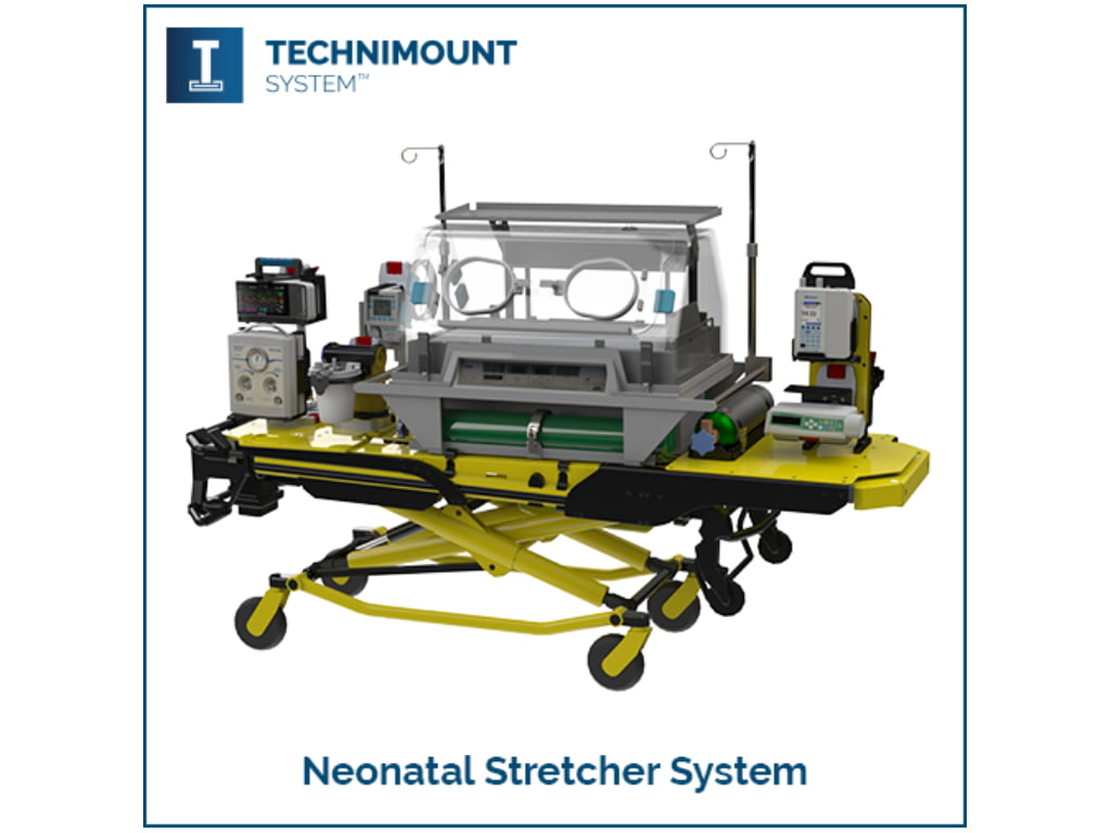 Technimount System's Neonatal Stretcher System