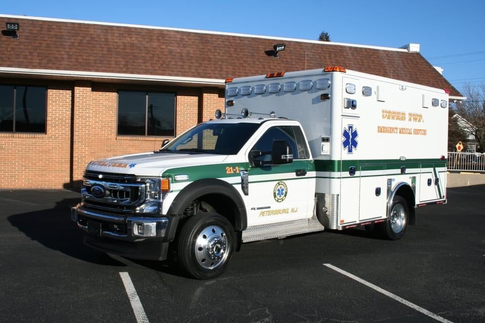 Upper Township (NJ) Division of EMS had Horton Emergency Vehicles build this Type 1 ambulance on a Ford F-550 4×4 chassis.