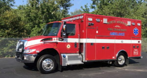 Horton built this Type 1 ambulance for North Andover (MA) Fire Department on an International MV607 chassis with a 173-inch long patient box, powered by a Cummins 250-horsepower 6.7-liter diesel engine, and an Allison 2200 EVS automatic transmission.