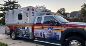 The FDNY recently unveiled a new wrap around an ambulance in remembrance of the 343 FDNY members lost on September 11, 2001.